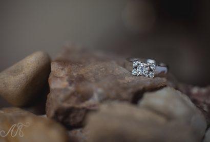 Дизайнерское помолвочное кольцо с бриллиантами