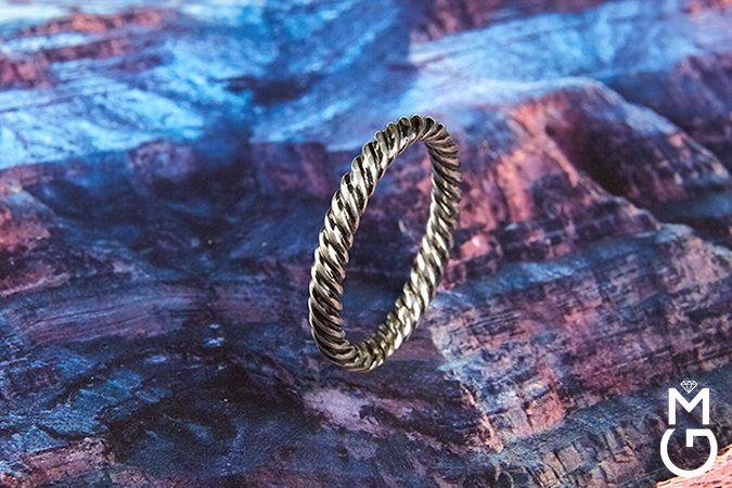 мужское обручальное кольцо FUNEM