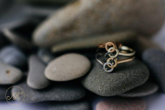 Авторское золотое кольцо