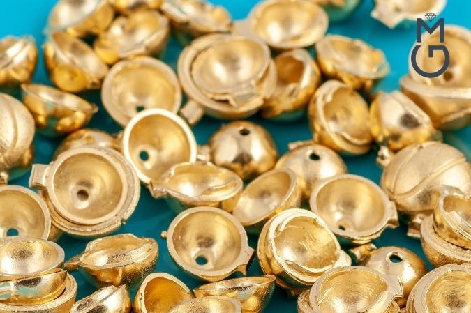 Мужской золотой браслет ручной работы