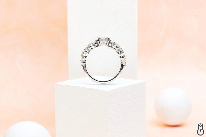 """Золотое кольцо """"Шпинель"""""""
