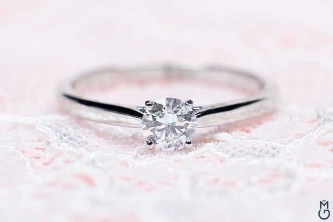 Кольцо с бриллиантом на заказ